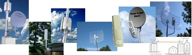 Motorola Canopy Wireless & CPE Wifi Client Integrated Radio and Antenna Index - Free ...