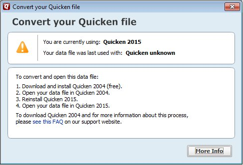 Quicken - Free Knowledge Base- The DUCK Project: information